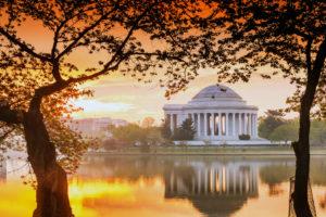 Washington DC at Dusk