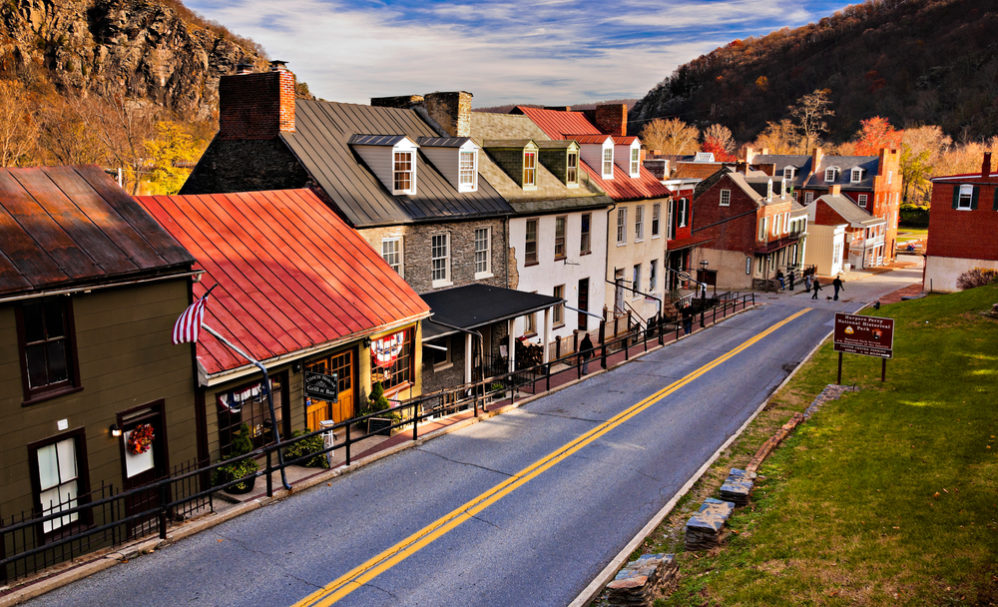 Harpers Ferry, a part of the East Coast Historical Tour
