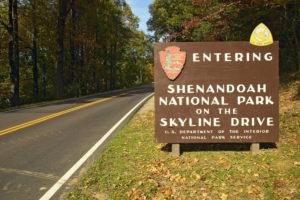 Shenandoah Park, a part of the East Coast Historical Tour