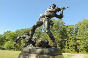 Statue at Gettysburg Tour Package